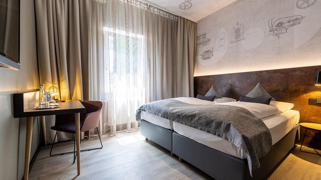 Ein Traum aus Stahl und Holz: das neue TRIP INN Boutique 019 in Essen