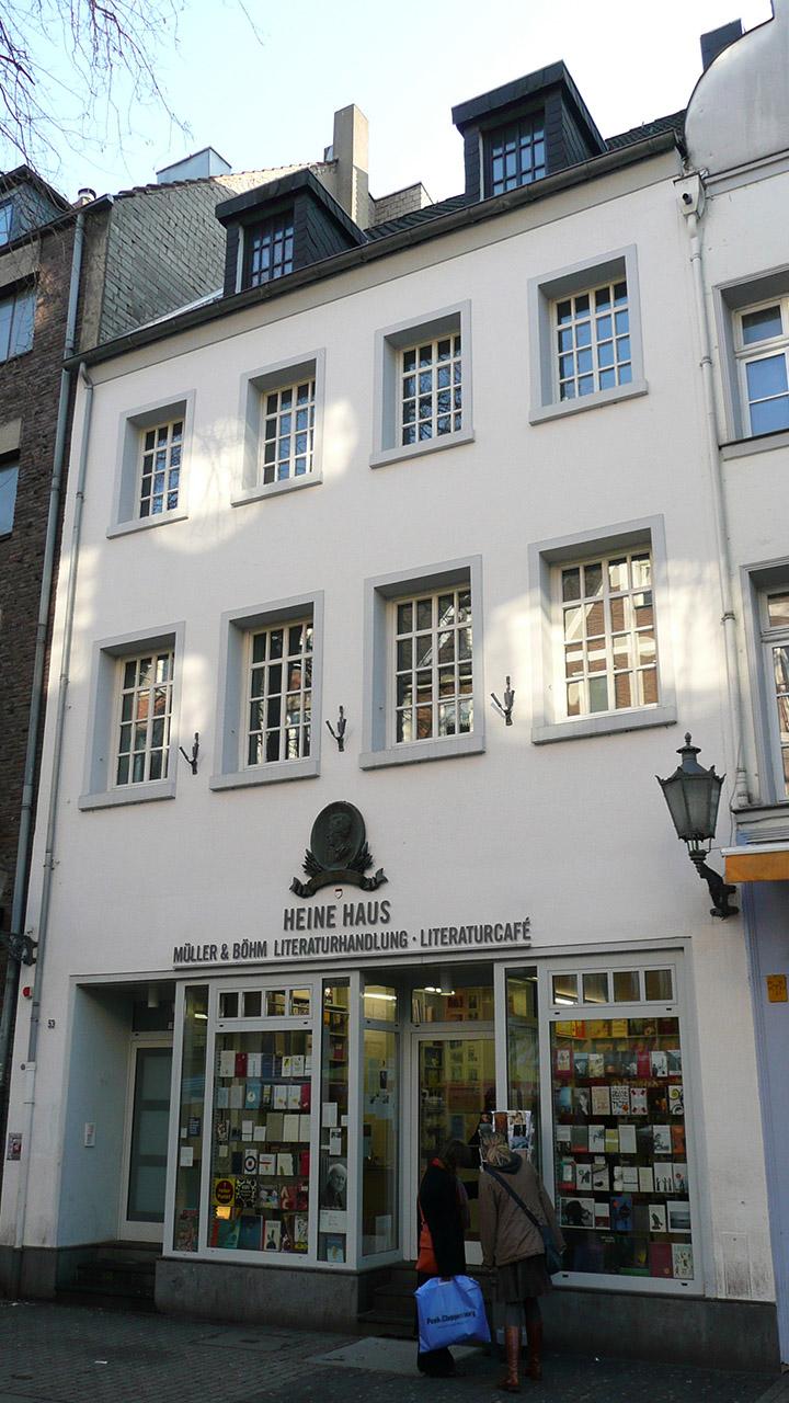 Charlie1965nrw, Düsseldorf Heine Haus, CC BY-SA 3.0