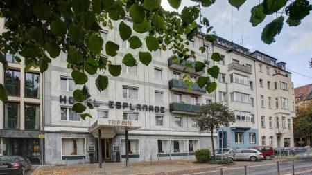 Das Hotel Esplanade in Düsseldorf ist nun ein TRIP INN-Hotel