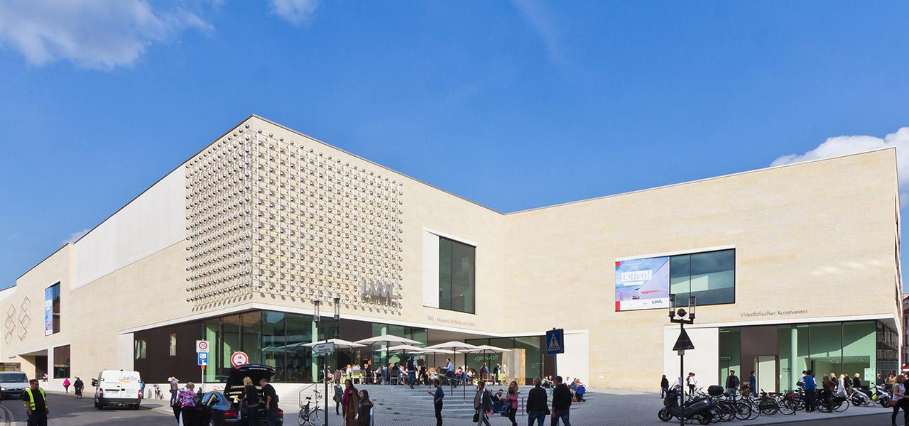 LWL-Museum für Kunst und Kultur Münster, Neubau